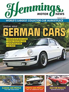 Latest issue of Hemmings Motor News