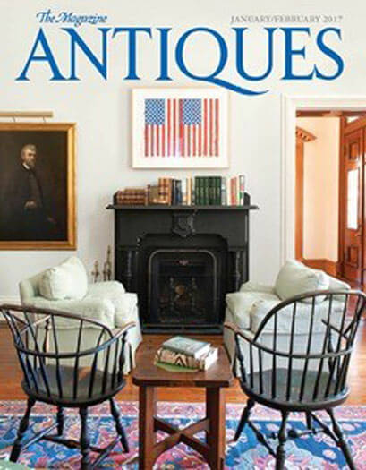 Latest issue of The Magazine Antiques
