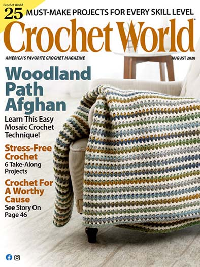 Latest issue of Crochet World