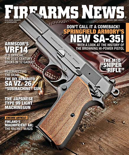 Latest issue of Firearms News