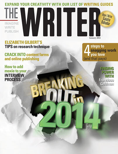 Latest issue of The Writer Magazine