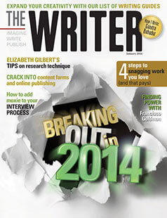 Latest issue of The Writer