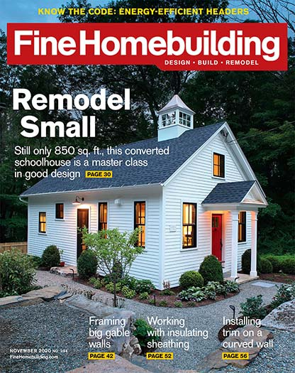 Latest issue of Fine Homebuilding