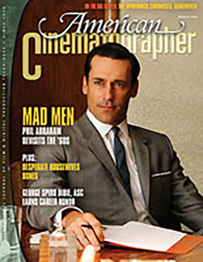 Latest issue of American Cinematographer