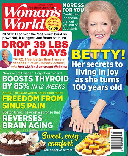 Latest issue of Woman's World