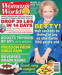 Latest issue of Woman's World Magazine