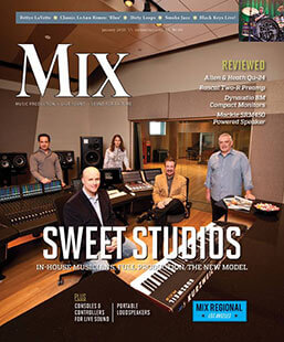 Latest issue of Mix Magazine