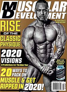 Latest issue of Muscular Development Magazine