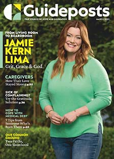 Latest issue of Guideposts-Large Print Magazine