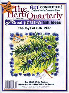 Latest issue of The Herb Quarterly Magazine