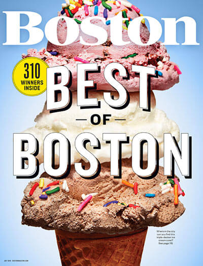 Latest issue of Boston Magazine