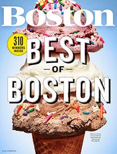 Latest issue of Boston Magazine