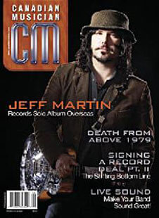 Latest issue of Canadian Music