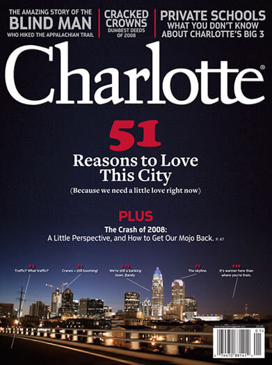 Latest issue of Charlotte Magazine