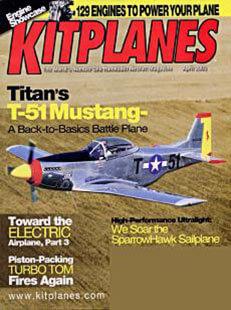Latest issue of KitPlanes Magazine