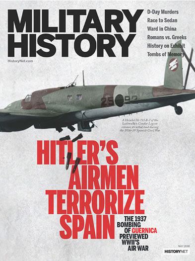 Latest issue of Military History Magazine