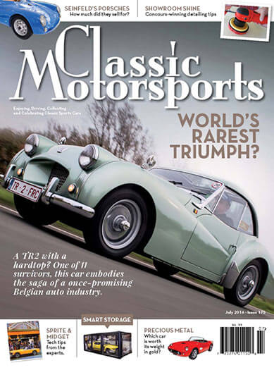 Latest issue of Classic Motorsports
