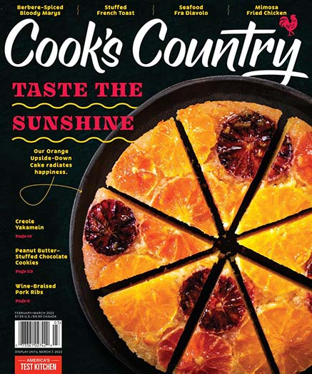 Latest issue of Cooks Country