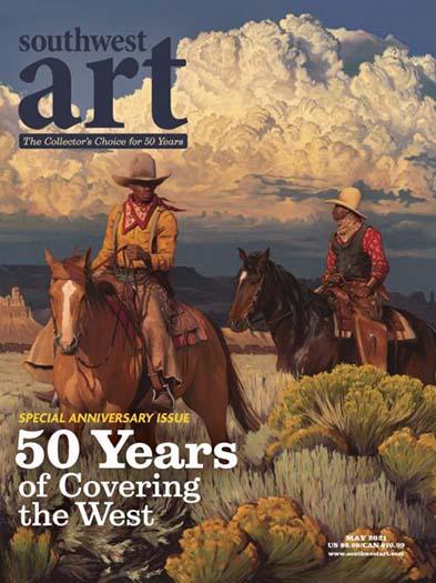 Latest issue of Southwest Art Magazine