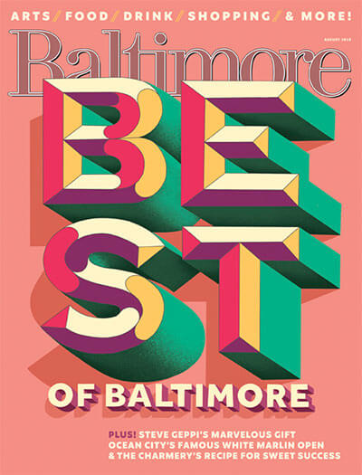 Latest issue of Baltimore Magazine