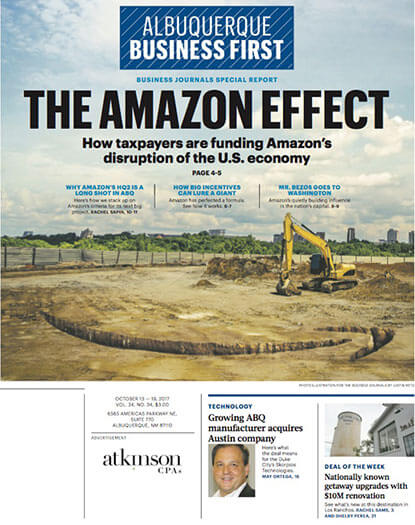 Latest issue of Albuquerque Business First