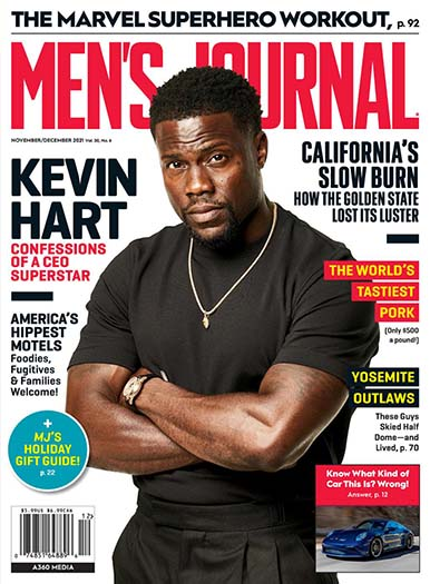 Latest issue of Men's Journal