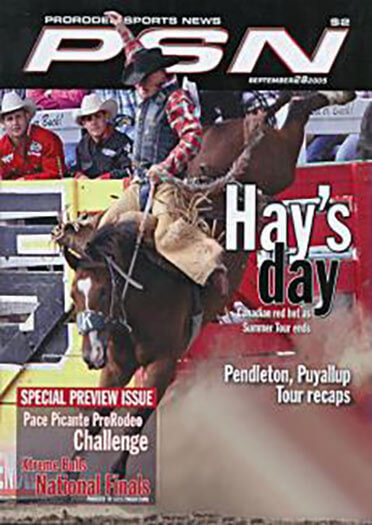 Latest issue of ProRodeo Sports News