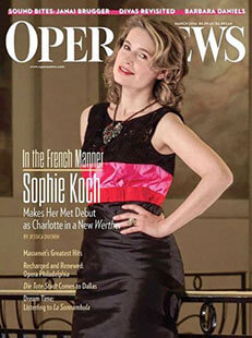 Latest issue of Opera News Magazine