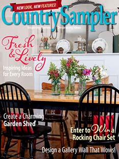Latest issue of Country Sampler
