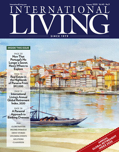 Latest issue of International Living