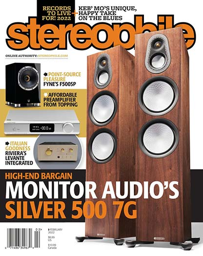 Latest issue of Stereophile