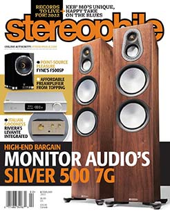 Latest issue of Stereophile Magazine