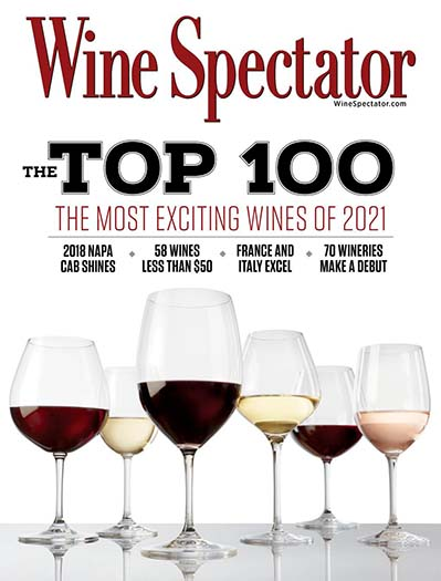 Latest issue of Wine Spectator Magazine