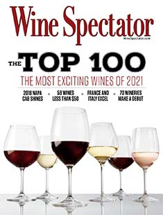 Latest issue of Wine Spectator