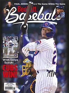 Latest issue of Beckett Baseball
