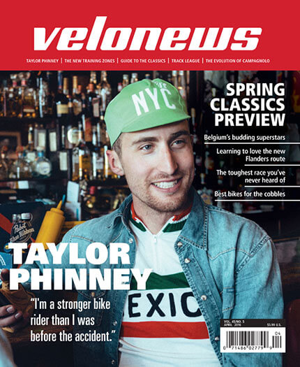 Latest issue of Velonews Magazine