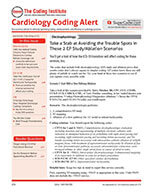 Cardiology Coding Alert 1 of 5