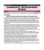 Community Development Digest 1 of 5