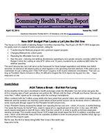 Community Health Funding Report 1 of 5