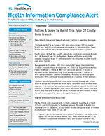 Health Information Compliance Alert 1 of 5