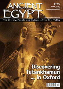Latest issue of Ancient Egypt