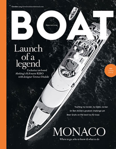 Latest issue of Boat International