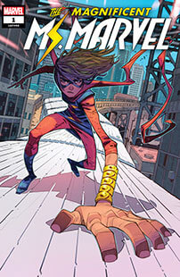 Latest issue of Magnificent Ms Marvel Magazine