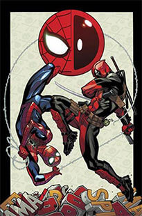Latest issue of Spider-Man/Deadpool Magazine