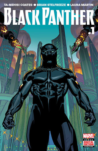 Latest issue of Black Panther