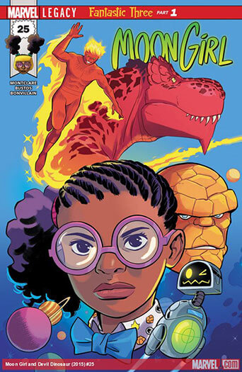 Latest issue of Moon Girl and Devil Dinosaur