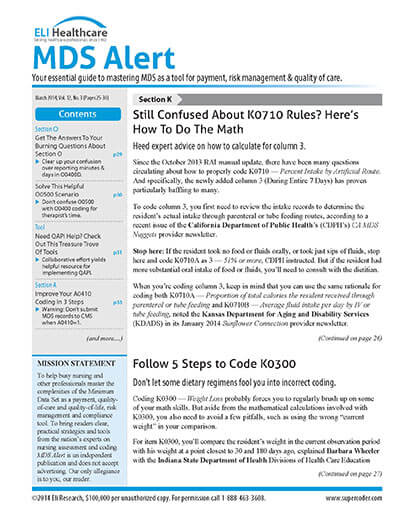 Latest issue of MDS Alert Magazine