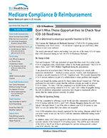 Medicare Compliance & Reimbursement 1 of 5