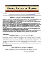 Native American Report 1 of 5