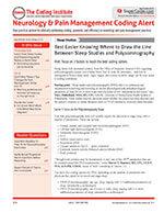 Neurology Coding Alert 1 of 5
